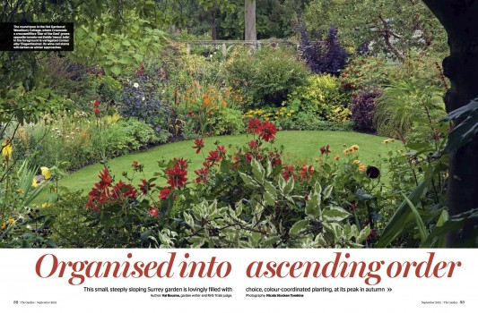 The Garden Magazine, journal of the Royal Horticultural Society
