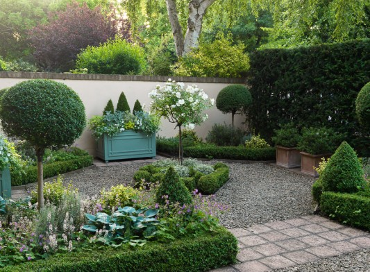 Front garden design for Garden designs for small square gardens