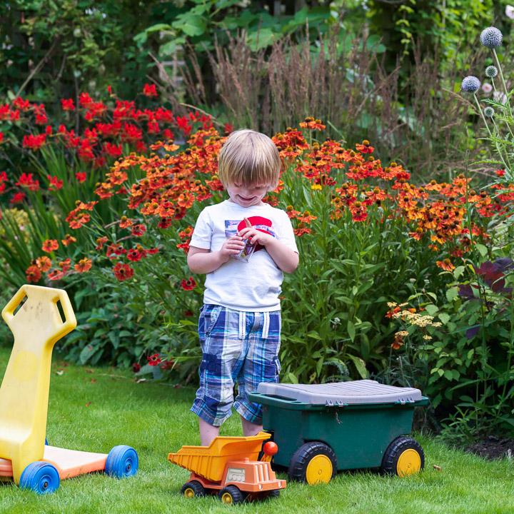 Late Summer Family Garden