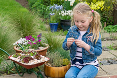 Thumbnail image for Child Planting Herb Bowl