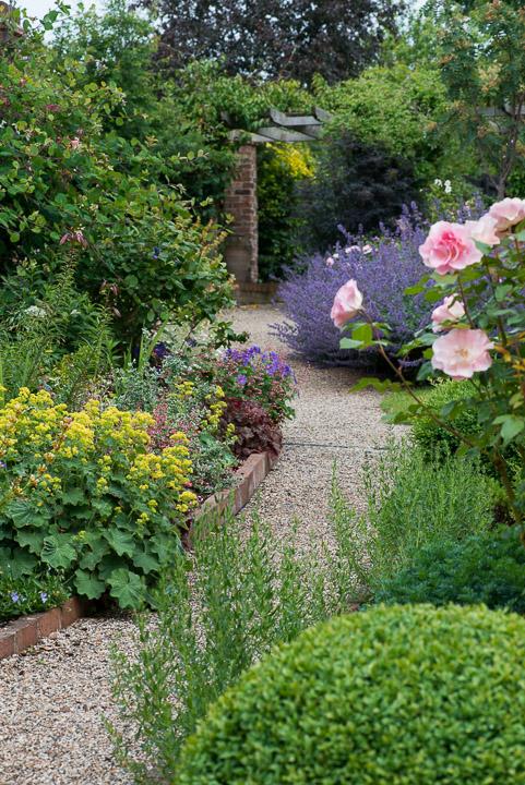 Village Garden In June